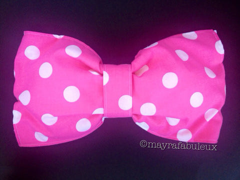 Pink Minnie Mouse Bow Bandeau Top