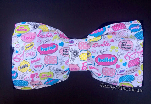 Barbie Girl Bow Bandeau Top