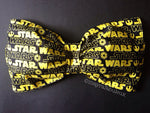 Yellow and Black Star Wars Bow Bandeau