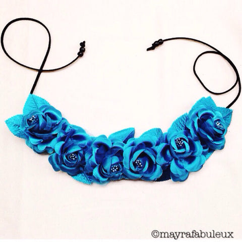Mermaid Flower Crown