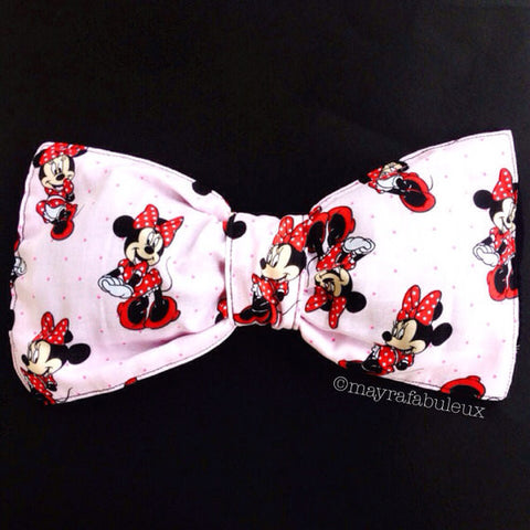 Light Pink Minnie Mouse Bow Bandeau Top