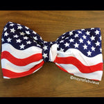 National Anthem Bow Bandeau