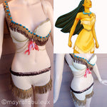Pocahontas Bra and Shorts Outfit