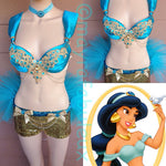 Princess Jasmine Inspired 4 piece Outfit