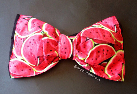 Watermelon Bow Bandeau Top