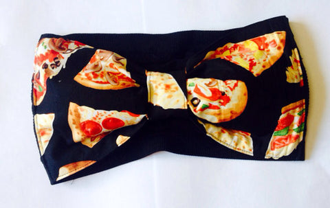 Pizza Bow Bandeau Top