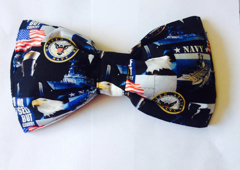 United States Navy Bow Bandeau Top