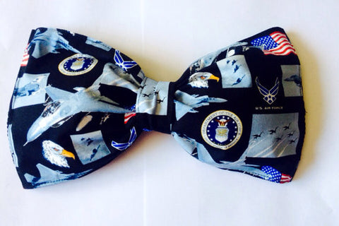 United States Air Force Bow Bandeau Top