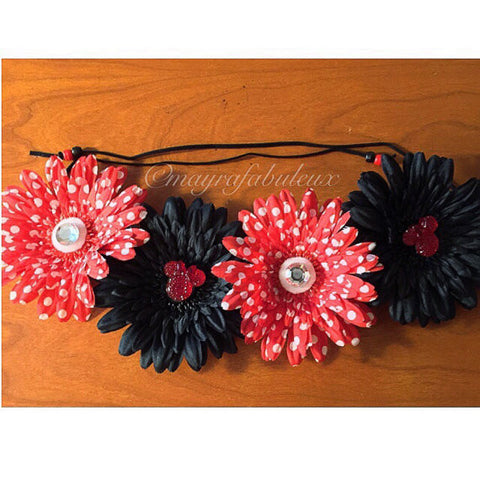 Minnie Mouse Flower Crown