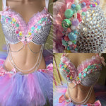 Candy Land Outfit: Bra and Tutu