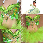 Princess Tiana Bra and Tutu Outfit