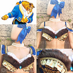 Beast from Beauty and The Beast Rave Bra