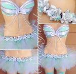 Tiffany and Co Inspired Bra and Tutu Complete Outfit