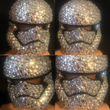 Stormtrooper Star Wars Crystal Rhinestoned Mask