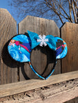 Elsa Frozen Minnie Ears, Frozen Ears, Mickey Ears, Disney Ears