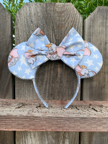 Dumbo Minnie Ears, Minnie Mouse Ears. Disney Ears