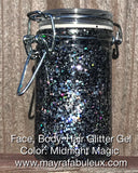 Midnight Magic Glitter Gel