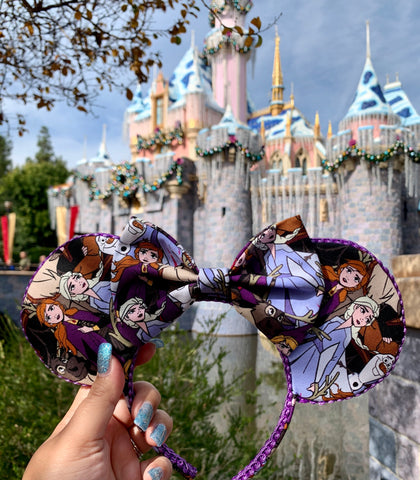 Frozen 2 Minnie Ears, Frozen Ears, Mickey Ears, Disney Ears