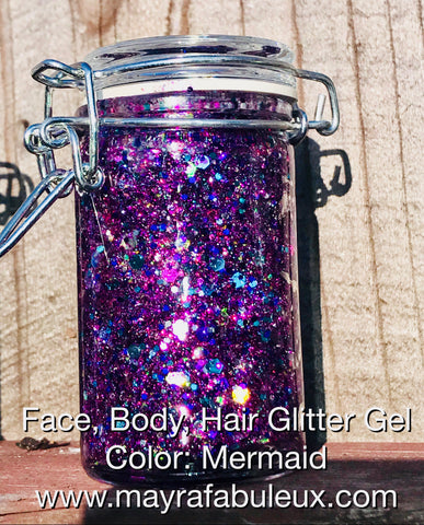 Mermaid Glitter Gel
