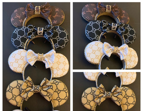 Designer Life For Me Minnie Ears, Crystal Minnie Ears, Minnie Ears, Limited Edition Minnie Ears