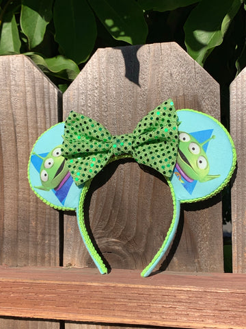 Toy Story Aliens Minnie Ears, Disney Ears, Minnie Mouse Ears