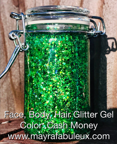 Cash Money Glitter Gel