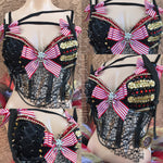 Pirate Rave Bra and  Matching Tutu - Rave Outfit