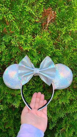 Iridescent Magic Vinyl Minnie Ears, Mickey Ears, Disney Ears