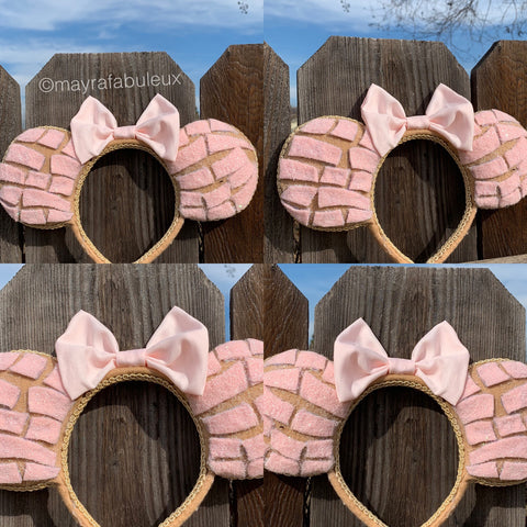 Concha Minnie Ears, Concha Mickey Ears, Disney Ears