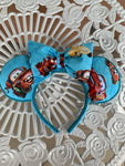 Cars Minnie Ears, Cars Ears, Disney Ears, Minnie Mouse Ears