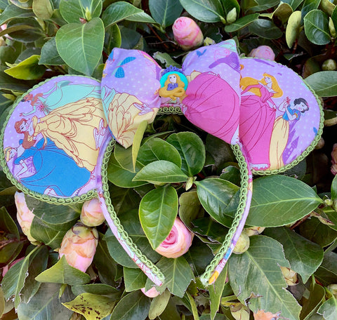 Princess Minnie Ears, Minnie Mouse Ears, Disney Ears