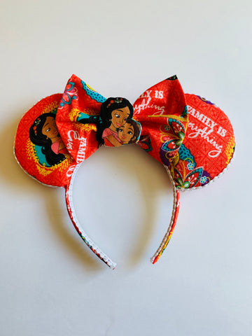 Elena Minnie Ears, Mickey Ears, Disney Ears