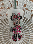 Minnie Mouse Crystallized Venti Starbucks Tumbler, Disney Tumbler