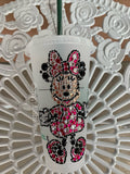 Minnie Mouse Crystalized Venti Starbucks Tumbler, Disney Tumbler