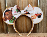 Moana Minnie Ears, Disney Ears, Minnie Mouse Ears