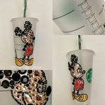 Mickey Mouse Crystallized Venti Starbucks Tumbler, Disney Tumbler