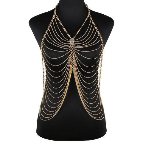 Gold Body Chain Style #103