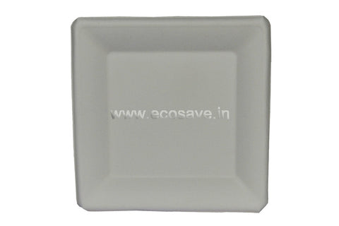 8 inch Bagasse Square Plates