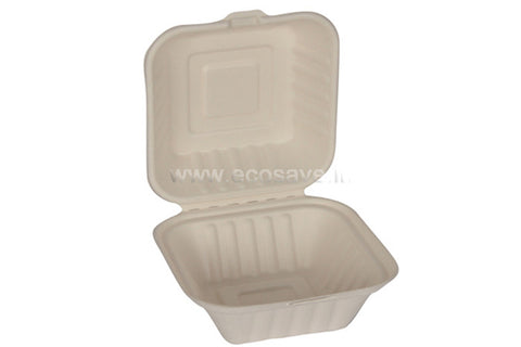 450ml Bagasse Burger Container