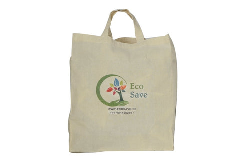 Box Type Cotton Bag (Brown) Biodegradable Packaging
