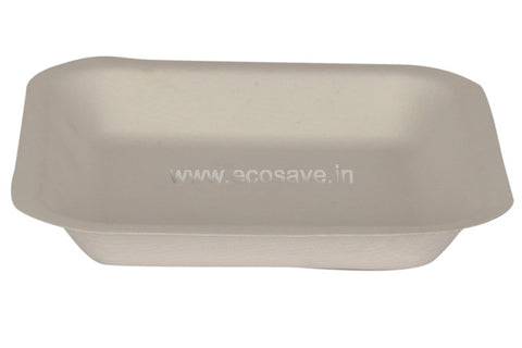 5.5 inch Bagasse Square Plate