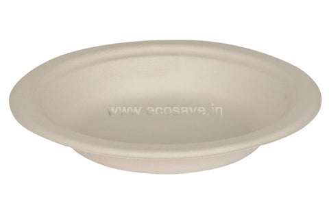 6 inch Bagasse Round Plates
