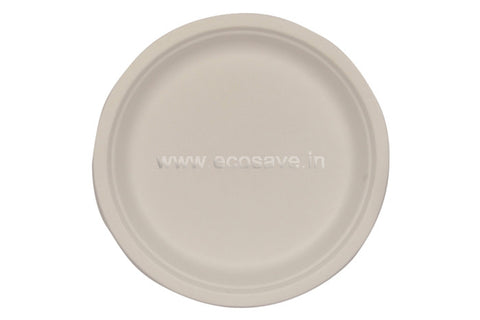7 inch Bagasse Round Plate