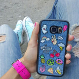 Jeans & Patches Phone Case