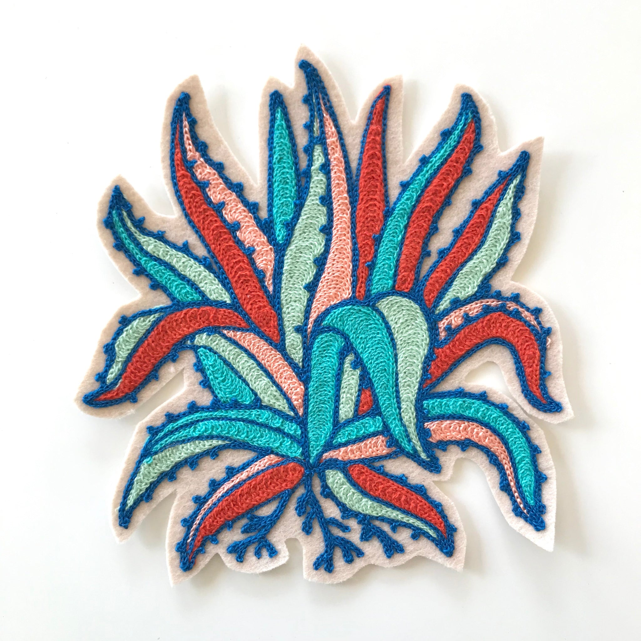 Agave Chainstitch Patch