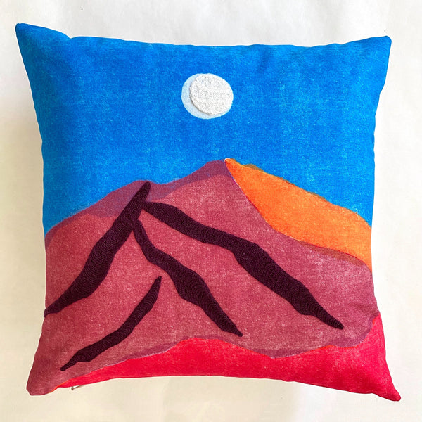 Mountain Moon Pillow
