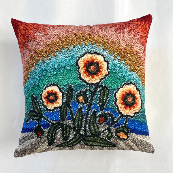 Rock Rose Pillow