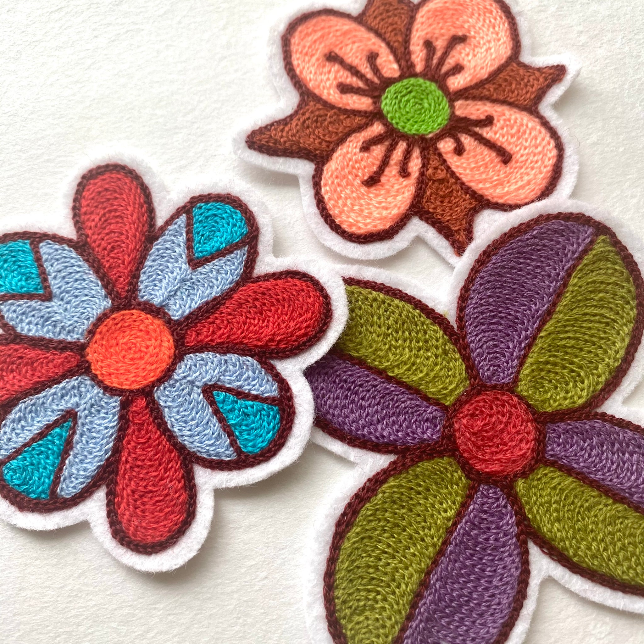 3 Flower Pack Patches
