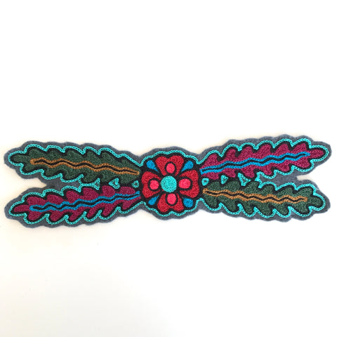 El Jardin Chainstitch Embroidered Patch