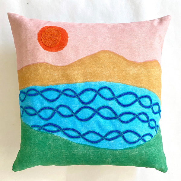 Lake View Pillow